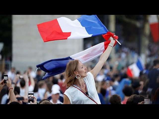 French football fans react to World Cup Win