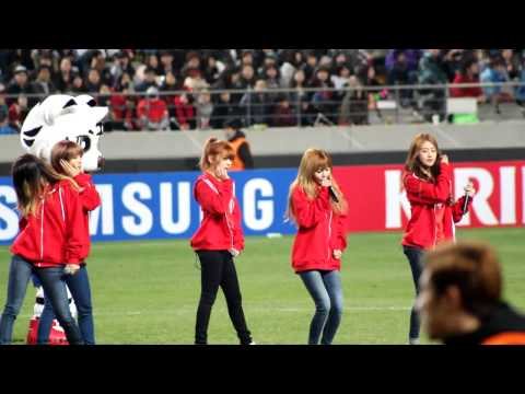 130326 - 4minute - Hot Issue  S.korea Vs Qatar Game video