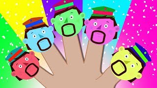The Captain's Finger Family Song | Learn Colors with Nursery Rhymes Songs for Babies