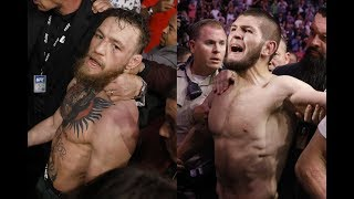 Conor McGregor vs Khabib Nurmagomedov REACTION! UFC 229 Post Fight Brawl With FOOTAGE!