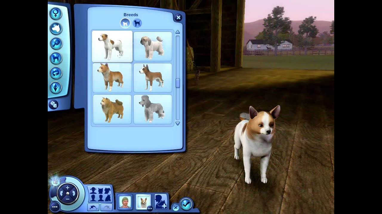 Sims  How To Get Dog To Have Puppies