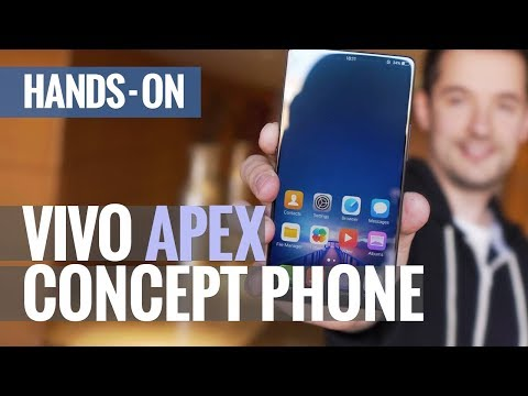 Periscope cam and 98% STB Ratio?! Vivo APEX FullView Concept phone hands-on
