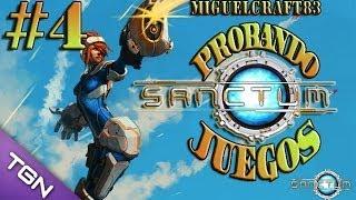 SANCTUM - JUEGOS DE CONSTRUCCIÓN Y EXTERMINIO (PJ) #4 |Gameplay-Español|