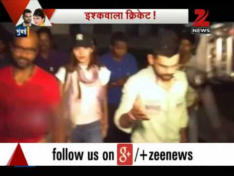 Virat Kohli, Anushka Sharma spotted together at the airport