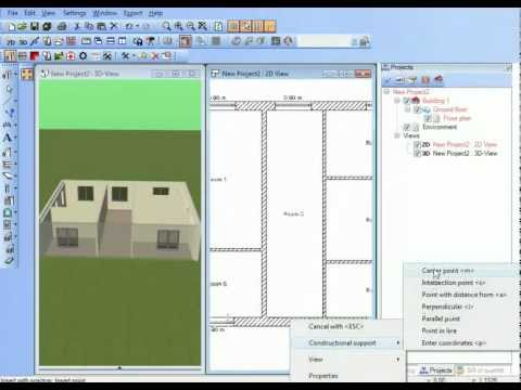 Ashampoo 3D CAD Architecture 2 - YouTube