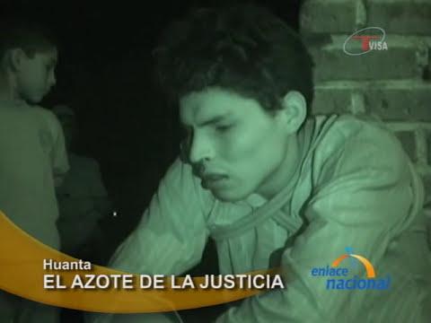 Comuneros capturan y azotan a ladrón en Ayacucho