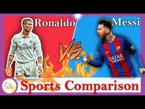 Ronaldo Vs Messi - {Sports Comparison}