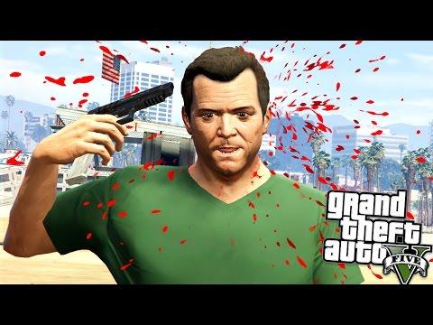 I TRIED RUSSIAN ROULETTE!! GTA 5 Mods Showcase!!