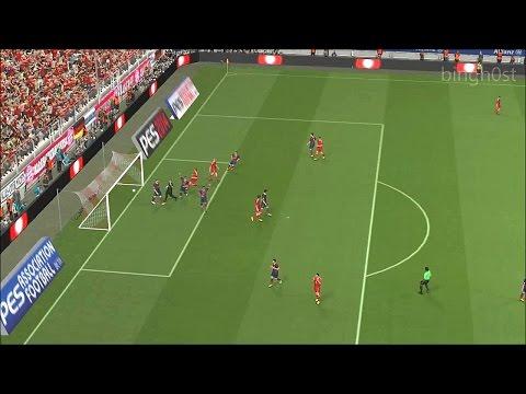 Bayern Munchen - FC Barcelona PES (Pro Evolution Soccer )