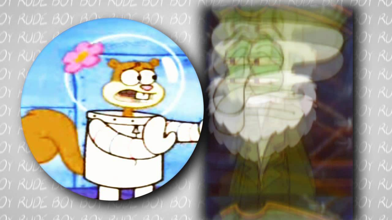 Squidward vs Sandy Sandy / Squidward Rude / Boy