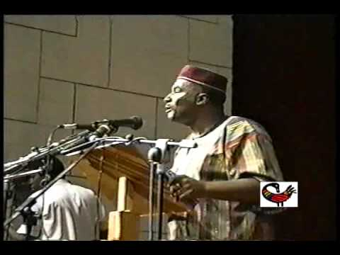 Dr. Leonard Jeffries - National Council of Black Studies Conference,1993 - Ghana, Africa