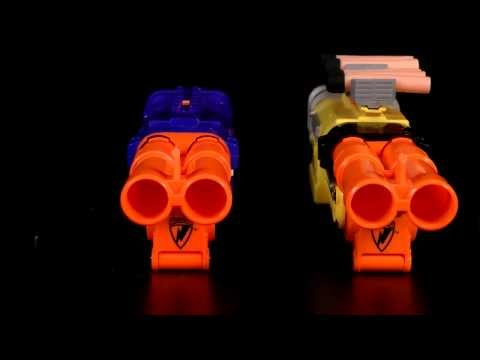 Nerf Elite Barrel Break vs Standard Barrel Break Comparison