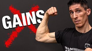 7 Reasons Your Muscle Gains Suddenly Stopped! (NO GROWTH)