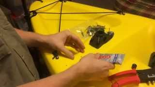 Kayak Fishing 101: How to Install a Scotty 241 Rod Holder Mount