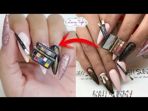 MAKEUP FANTASY NAIL ART / Laura Tagle ENGLISH
