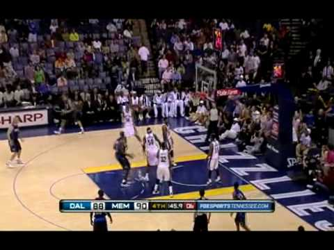 Dallas Mavericks comeback against Memphis Grizzlies (03 / 31/ 2010)
