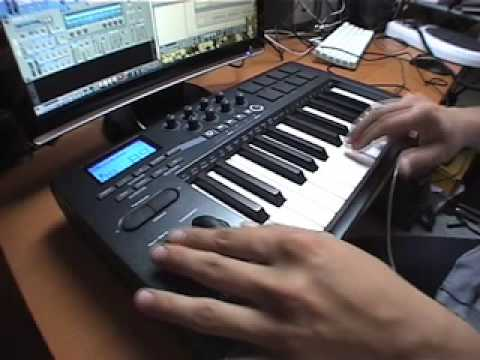 Fake scratch using Reason and a MIDI keyboard, by Willbe