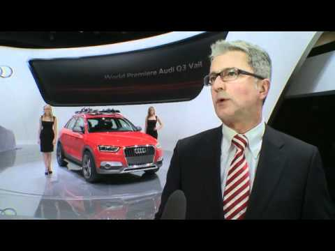 Rupert Stadler, CEO, Audi  at NAIAS 2012