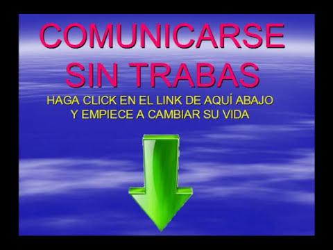Tartamudez. Comunicarse Sin Trabas