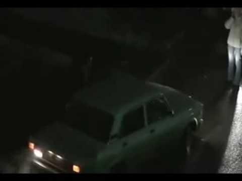 Архангельские разборки двух водителей.