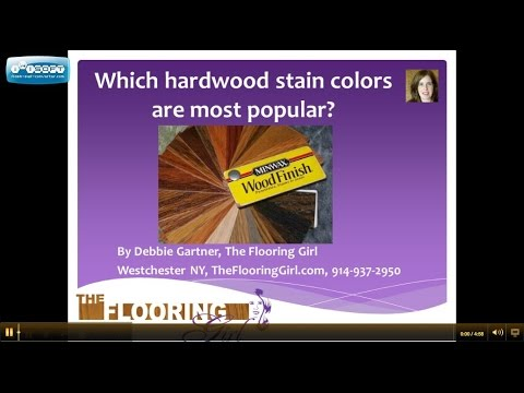 Which Stain Colors Are Most Popular For Hardwood Flooring Westchester NY Re