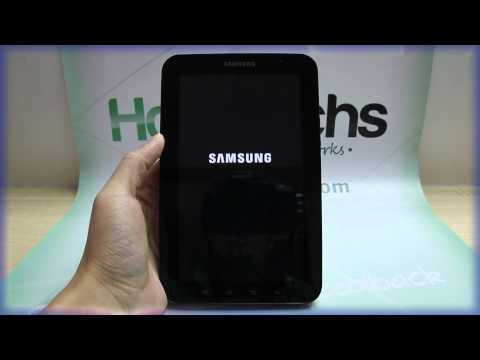 How to Master Reset Samsung GALAXY Tab