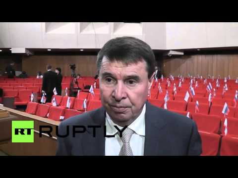 Russia: Konstantinov elected as chairman of Crimea's State Council