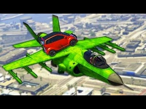 AMAZING GTA 5 STUNTS & FAILS (GTA V STUNTS)