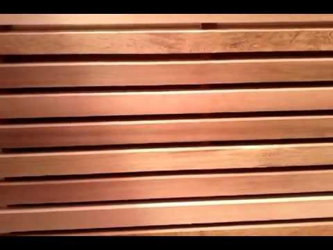 bardage red cedar pose claire voie horizontale. Black Bedroom Furniture Sets. Home Design Ideas