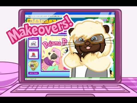 Cat's Pajama Party - Webkinz By Ganz video