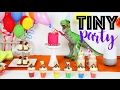 ULTIMATE TINY PARTY! Mini Cakes, Cupcakes, DIY Crafts & Recipes