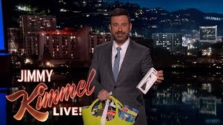 Jimmy Kimmel Still Gets an Easter Basket from His Mom