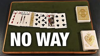 This IMPOSSIBLE No Setup Card Trick Is INSANE!