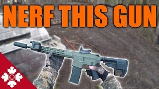 THIS AIRSOFT GUN IS TOO MUCH!