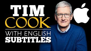ENGLISH SPEECH | TIM COOK: Be a Builder (English Subtitles)