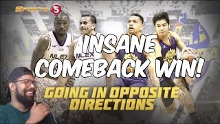 GREATEST COMEBACK IN THE PBA! TNT KATROPA VS NLEX HIGHLIGHTS REACTION!
