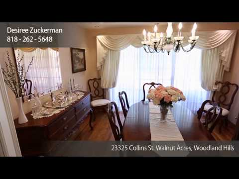 23325 Collins St. Walnut Acres - 1 Story 4 BR on 18K Lot with Pool & Sport Court