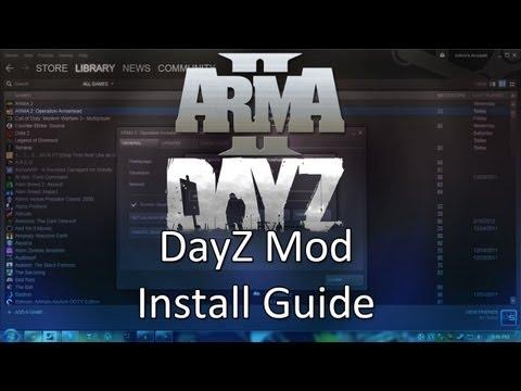 ARMA 2: DayZ Mod Installation!