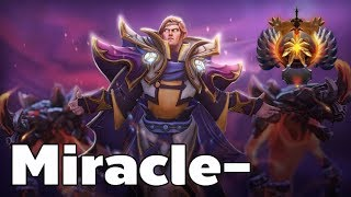 Miracle- Invoker Immortal Rank Gameplay