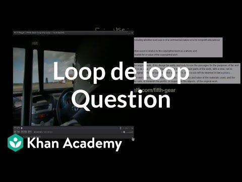Loop De Loop Question