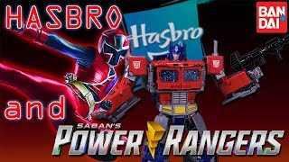 What does HASBRO mean for POWER RANGERS?