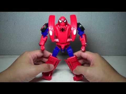 Marvel Universe TF Crossovers Spider Man Race Car