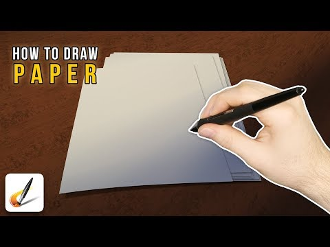 Paper - Draw This [Episode #23] (Painter 2015 & Photoshop Tutorial)