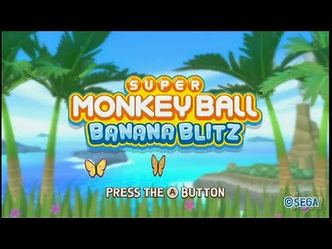 Super Monkey Ball: Banana Blitz Nintendo Wii Review -