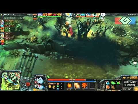 iG vs Tongfu Game 1 - G-League Group Stage DOTA 2 - TheCapitalist & Sneyking