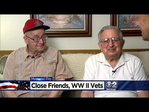Two Chicago World War II Vets Remain Friends For More Than 70 Years
