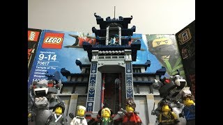 Temple Of The Ultimate Ultimate Weapon|The Lego Ninjago Movie|Lego 70617