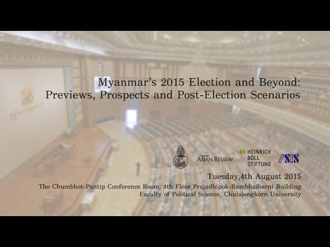 Myanmar's 2015 Election and Beyond 1/3