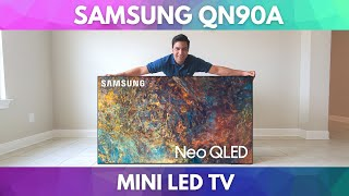 01. Samsung Neo QLED QN90A Unboxing, Assembly, and Setup