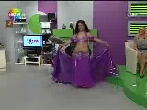 Fatima Serin in Show TV (Turkish Television) Bellydance, raks sharki